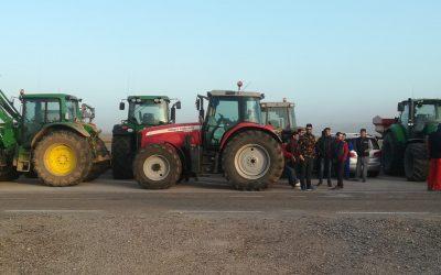 Movilización contra los recortes de las medidas agroambientales